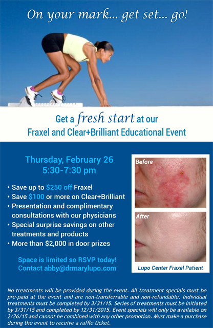 Fraxel and Clear+Brilliant Educational Event