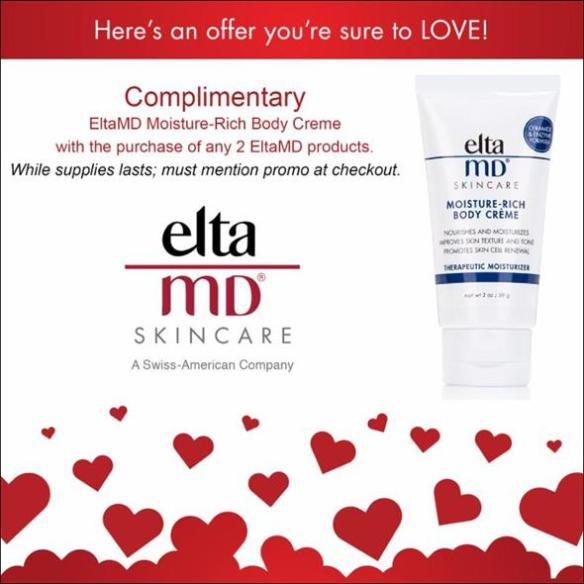 Complimentary EltaMD Moisturizer with Purchase