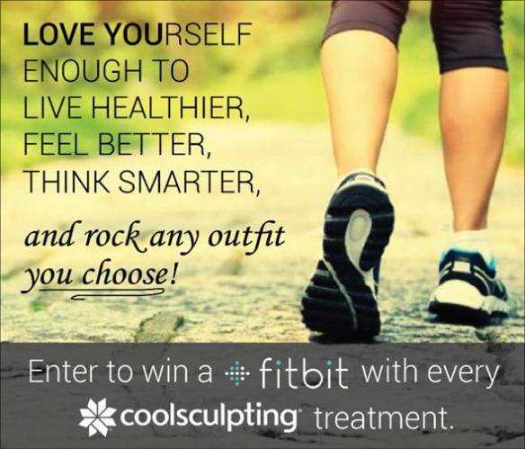 Get CoolSculpting, Win a Fitbit Promotion