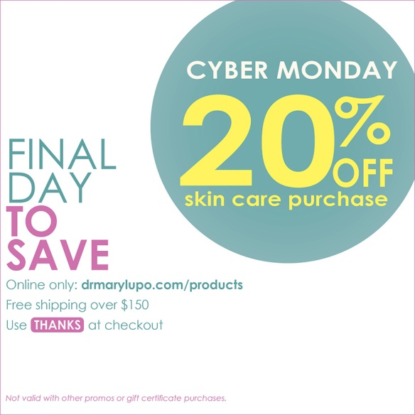 Cyber Monday, Final Day to Save