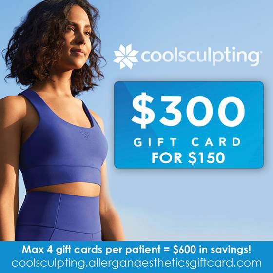 Half-off CoolSculpting Gift Cards